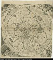 La Nouuelle maniere de representer le Globe terrestre, en laquelle il est entierement reduict dans un Cercle, sans aucune diuision de ses parties.