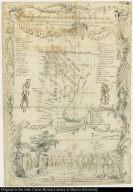 Mapa sacado con la ocasion de la Entrada qui hizo â su costa â los Fertiles y dilatados Paises del Gran Chaco Gualamba, el Governor del al Prov[inci]a del Tucamàn Dn. Geronimo Matorras ...