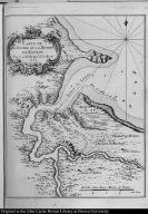 Carte de l'Entree de la Riviere de Kourou.