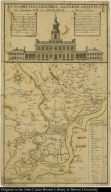 A map of Philadelphia, and parts adjacent. With a Perspective View of the State-House.
