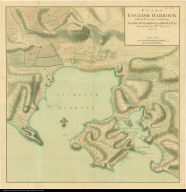 Plan of English Harbour with it's Environs ...