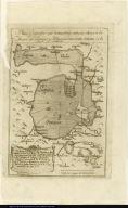Plano Geografico que demuestra la antigua cituacion de Mexico sus Lagunas y Poblaciones inmediatas, en tienpo de la Gentilidad