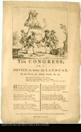 THE CONGRESS; OR, A DEVICE to lower the LAND-TAX. To the TUNE of, Doodle, Doodle, Do, &c.