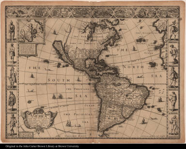 America with those known parts in that unknowne worlde both people and manner of buildings described and inlarged by I.S. Ano. 1626