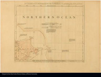 Sheet I. Chart containing part of the Icy Sea with the adjacent coast of Asia and America --
