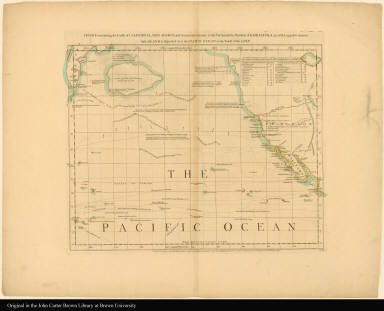 Sheet III. Chart containing the coasts of California, New Albion, and Russian discoveries to the north ... --