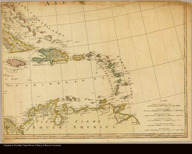 [Map of the West Indies]