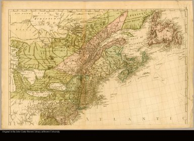 [Map of Saint Lawrence River south to Virginia]