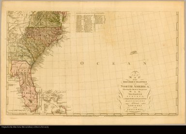[Map of Virginia south to Florida]