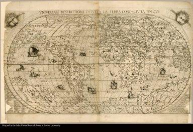 Vniversale Descrittione Di Tutta La Terra Conoscivta Fin Qui