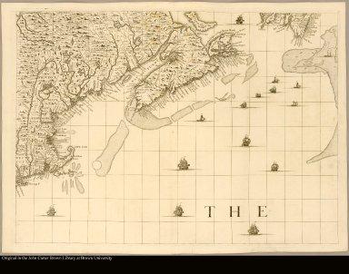[North America with Nova Scotia to Cape Cod]