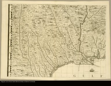 [North America showing the mouth of the Mississippi River and the Gulf of Mexico]
