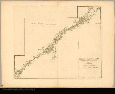 [Map of the Saint Lawrence River]