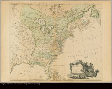 The British colonies in North America engraved by William Faden