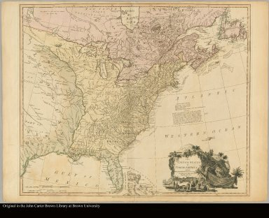 The United States of North America, with the British & Spanish territories according to the Treaty, of 1784 engrav'd by Wm. Faden