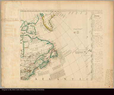 A General Map of North America: In which is Express'd The several New Roads, Forts, Engagements, &c. ...