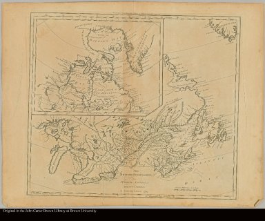 The British possessions in North America from the best authorities by Samuel Lewis, 1794