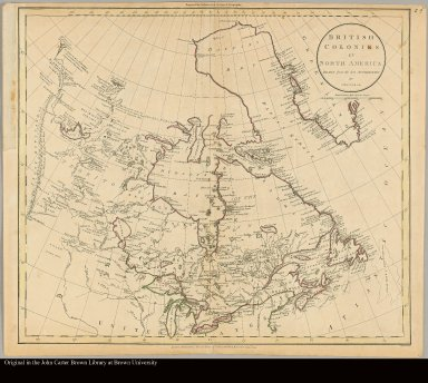 British colonies in North America drawn from the best authorities by J. Russell