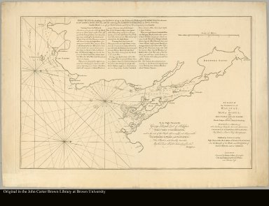 A chart of the Harbour of Halifax, in Nova Scotia with Jebucto Bay and Cape Sambro ... survey'd, by order of ... Brigadier General Lawrence, Governour ..., by Charles Morris, chief surveyor, 1759. Published by command of the ... Lords of Trade & Plantations ...
