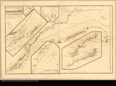 [Carte marine de l'embouchure de la Rivière de S. Laurens]|