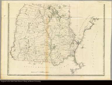[bottom] A topographical map of New Hampshire