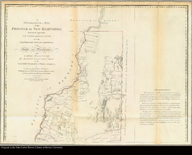 [top] A topographical map of New Hampshire