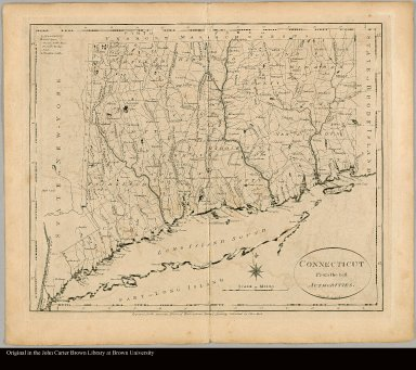 Connecticut From the best authorities B. Tanner del. & sculpt
