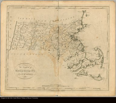 The State of Massachusetts, from the best information