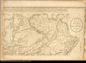 [upper right] northwestern Pennsylvania
