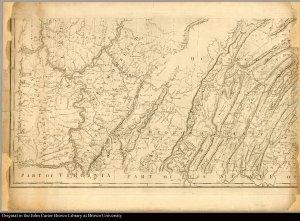 [lower left] southeastern Pennsylvania