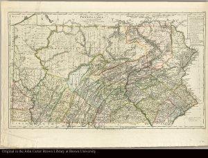 Pennsylvania entworfen von D.F. Sotzman