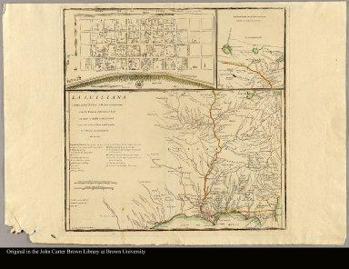 La Luisiana cedida al Rei N.S. por S.M. Christianisima, con la Nueva Orleans, è isla en que se halla esta ciudad Construida sobre el mapa de Mr. d'Anville Por D. Thomás Lopez