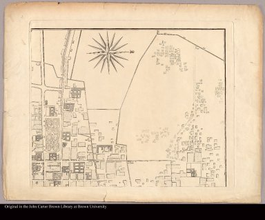 [upper right Plan of Mexico City]