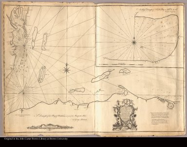 A draught of the Bay of Honduras and part of the Musquetto Shore by George Robertson