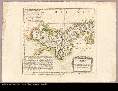 [Sheet 1. Map of Panama]