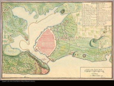 A plan of the Havanna 1762 T: Davies fecit