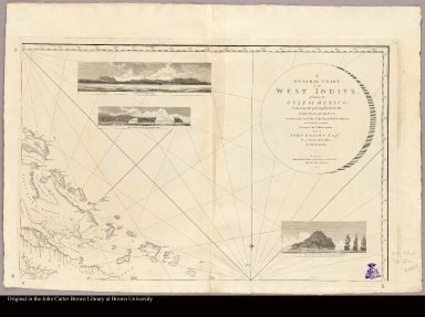 [Upper right: Map of the Bahamas with views of islands]