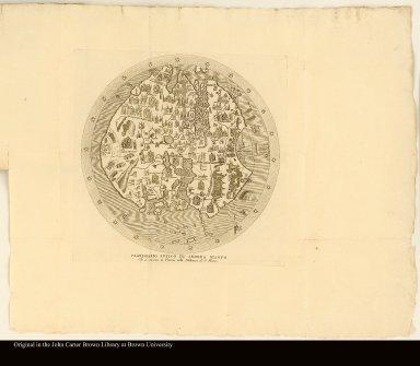 Planisferio antico di Andrea Bianco Che si conserva in Venezia nella Biblioteca di S. Marco
