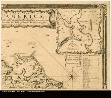 [upper right] [Northeast section of a map of Antigua]