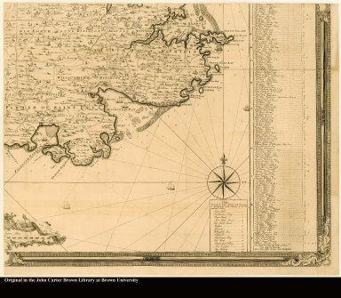 [lower right] [Southeast section of a map of Antigua]