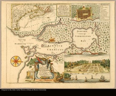 A map of the south part of Nova Scotia and it's fishing banks engraved by T. Jefferys geographer to His Royal Highness the Prince of Wales
