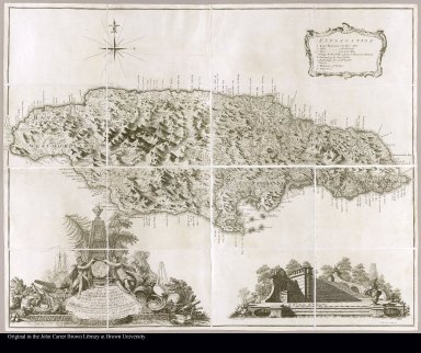 To the Right Honorable George Earl of Halifax, ... This map of the island of Jamaica laid down from the papers and under the direction of Henry Moore, Esqr.; His Majesty's Lieutenant Governor and Commander in Chief of that island, ... Thos. Craskell, engineer, Jas. Simpson, surveyor