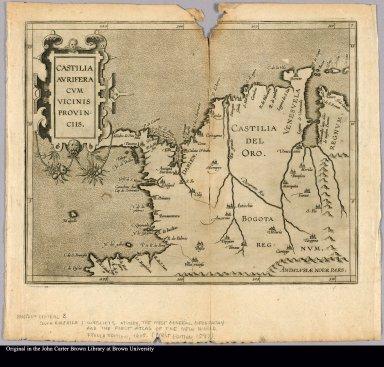 Castilia aurifera cum vicinis provinciis