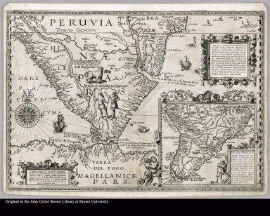 Haec pars Peruvianae, regiones Chicam & Chile[nsem] complectitur, & Regionem Patagonum