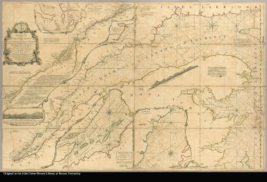 An exact chart of the River St. Lawrence, from Fort Frontenac to the Island of Anticosti shewing the soundings, rocks, shoals &c