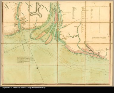 [bottom right: Chart of Guyana. Also includes list of proprietors and estates on the Demerary River.]