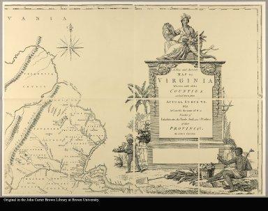 [upper right] map of Virginia