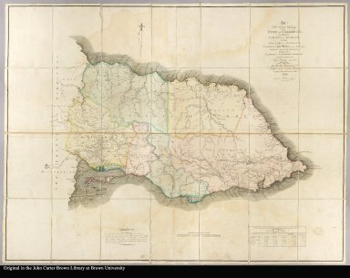 To His Royal Highness the Duke of Clarence, this map of the county of Surrey, in the Island of Jamaica, constructed from actual surveys under the authority of the Hon. House of Assembly; by whom it hath been examined, and unanimously approved; is, with permission ... inscribed by ... James Robertson, A.M. 1804