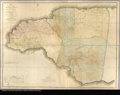 To His Royal Highness the Prince of Wales, this map of the County of Cornwall, in the island of Jamaica, constructed from actual surveys under the authority of the Hon. House of Assembly; by whom it hath been examined, and unanimously approved; is, with permission ... inscribed by ... James Robertson, A.M. 1804