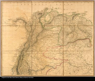 [upper left: showing New Grenada and Panama]